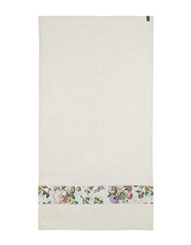 ESSENZA Handtuch Fleur Blumen Pfingstrosen Tulpen Baumwolle Natural, 60x110 cm