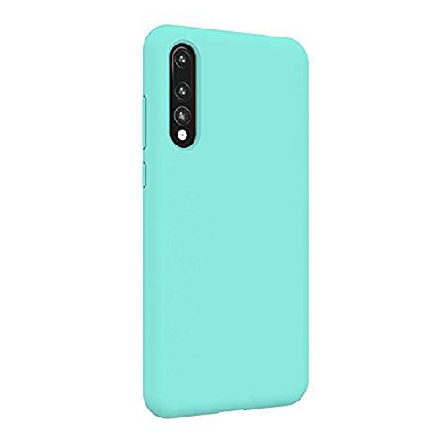 Teryei Funda Huawei P20 Pro, Silicona Suave Case Full protección Anti-Golpes Rasguño y Resistente [Ultra Slim ] Anti-Estático Choque Bumper pour Huawei P20 Pro (Verde)