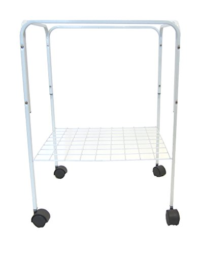 YML Stand for Cage Size 18 by 18-Inch and 18 by 14-Inch, White