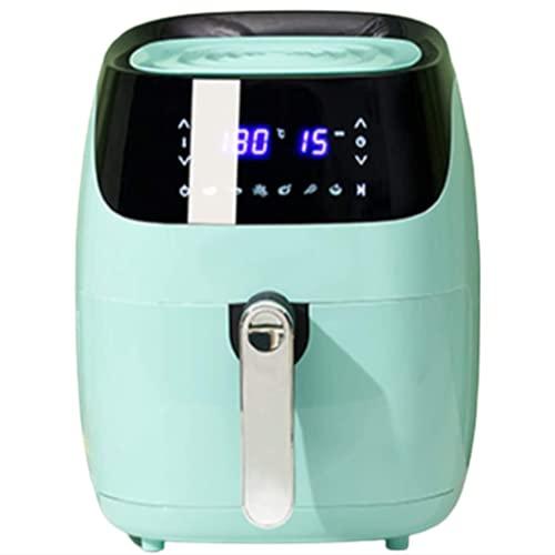 N / B Freidora de Aire, Pantalla táctil Digital de 4,5 litros de 4,5 litros, Sistema de circulación de Aire de Alta Velocidad Puede Proporcionar Alimentos sin Aceite saludables de 1400W, Verde