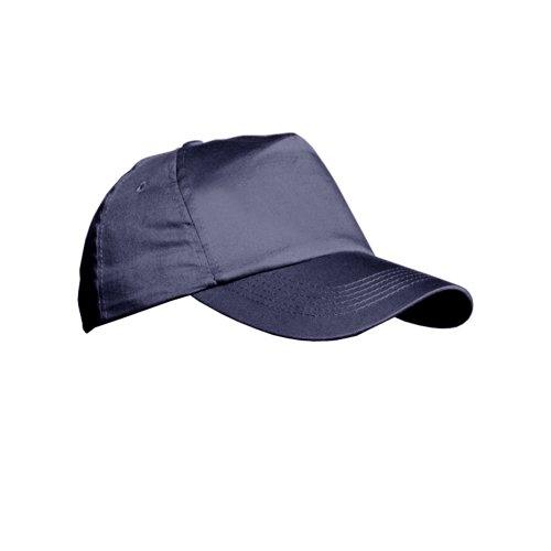 Result Casquette Unie 100% Coton - Adulte Unisexe (Taille Unique) (Bleu Marine)
