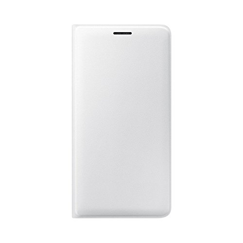 Samsung Flip Wallet Schutzhülle (geeignet für Samsung J3 2016) weiß