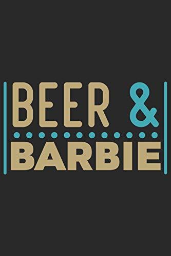 Beer & Barbie: Beer taste logbook for beer lovers | Beer Notebook | Craft Beer Lovers Gifts