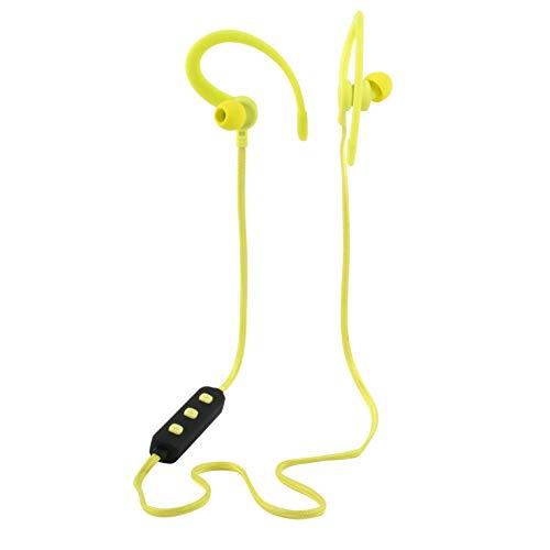 Intempo® EE3925CORRDPE Active WSD 50 Bluetooth In-Ear Kopfhörer mit Ohrbügel | Bis zu 3 Stunden Spielzeit Gelb/Schwarz 12 x 17.5 x 3.1 cm gelb