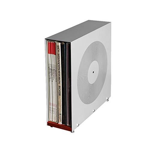 Nai-storage contenitore in acrilico grigio per esposizione dei dischi in vinile (capienza 25 dischi)