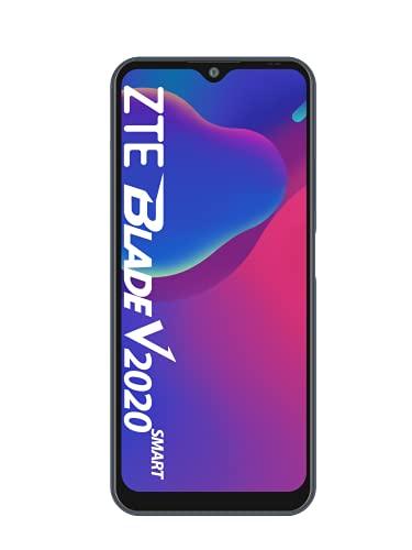 ZTE Smartphone Blade V2020 smart (17,32 cm (6,82 Zoll) TFT Bildschirm, 4GB RAM & 128GB interner Speicher, 16MP Haupt-Kamera, 8MP Front-Kamera, Dual-SIM, Android Q) grau