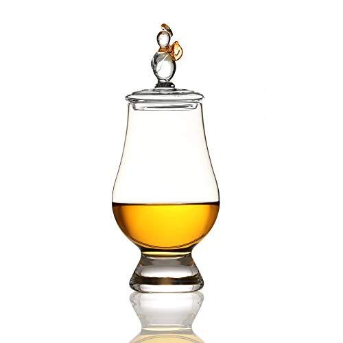 Angels' Share & Glencairn - Whisky Glas mit Tasting Cap - schottischer Engel