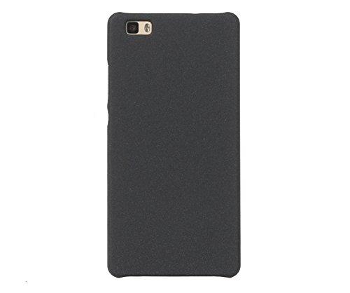 ARTILVST Huawei P8 Lite (2015) (5.0') Funda,Ultra Fino Medio rodeó la Estructura de Superficie Mate Durable PC Protector teléfono Funda para Huawei P8 Lite (2015) (5.0') Smartphone [Negro]