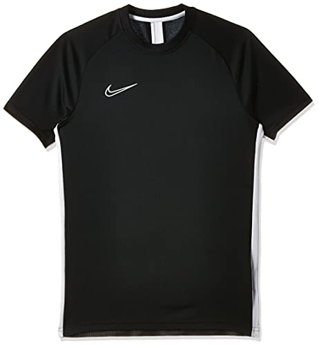 Nike Dri-Fit Academy, T-Shirt Uomo, Black/White/(White), XL