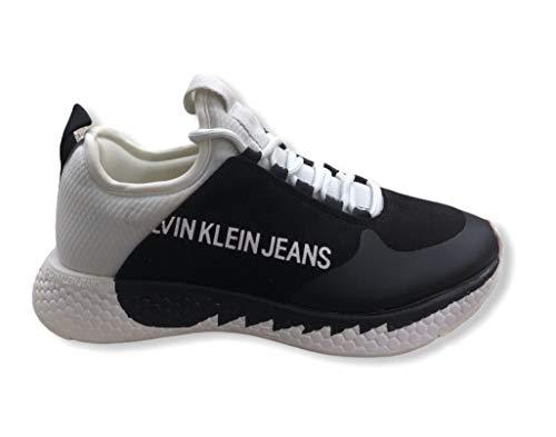 Calvin Klein Vaqueros Sneakers Mujer Blanco Size: 37 EU