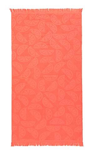 Toalla de Playa con Flecos 90 x 160 cm Coral TEX