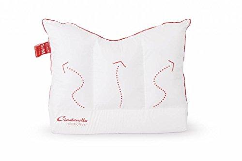 Cinderella Orthoflex rechthoekig 60 x 70 cm wit kussen beddengoed