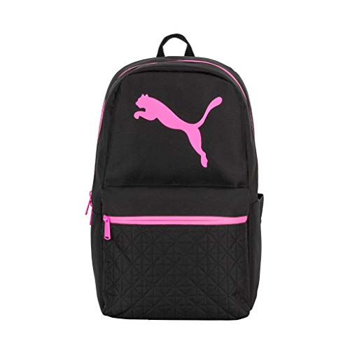 PUMA Women's Rhythm Backpack, Black/Pink, One Size