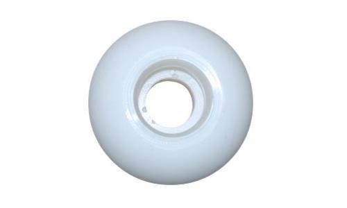 Blank Skateboard Wheels (White, 51mm)