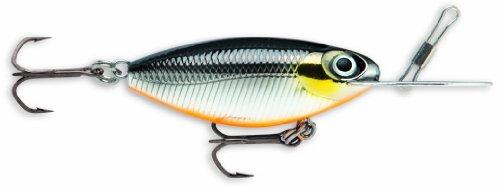 Storm Hot 'N Tot MadFlash 05 Fishing Lure, Black Chrome Orange