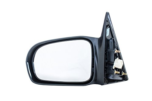 Driver Side Mirror for Honda Civic (Sedan Only) LX (2001 2002 2003 2004 2005) Unpainted Non-Heated Non-Folding Power-Operated Left Side Door Mirror Replacement - HO1320141