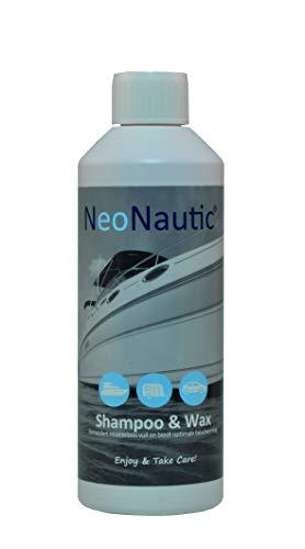 NeoNautic Shampoo & Wax 500ml (Boot/Caravan/Auto)