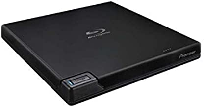 Pioneer Electronics BDR-XD07B 6x Slim Portable USB 3.0 BD/DVD/CD Burner Supports BDXL & M-Disc Format with CyberLink Software, Black