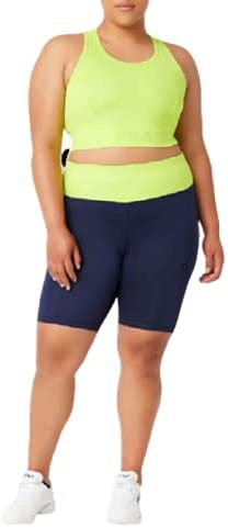 Fila Women's Plus Size Curve Buffer Bike Short