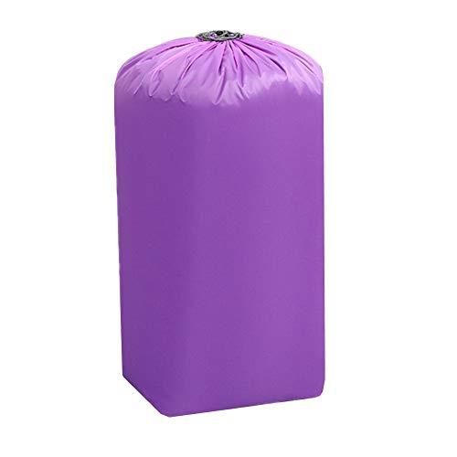 Cheaonglove Cajas Almacenaje Cajas Almacenaje Ropa Grandes Bolsas de Almacenamiento Grandes Bolsas de lavandería Bolsas de Almacenamiento para Ropa de Cama Purple,34X38X105