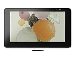Wacom Cintiq Pro 32 Multi-Touch-Display Tablet (mit 4K, 32 Zoll Kreativ Stift Display mit integriertem Standfuß inkl. Wacom Pro Pen 2 Stylus, Stifthalter & Ersatzspitzen, geeignet für Windows & Mac)