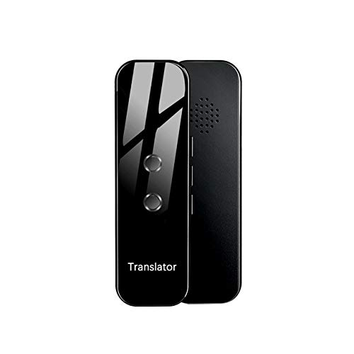 G6 Tragbarer Audio-Translator Instant Voice Translator Unterstützung 72 Sprachen 3 in 1 Sprachtext Bluetooth Translator Schwarz