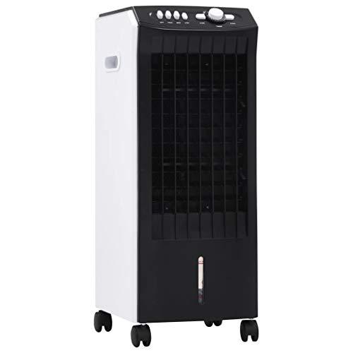 vidaXL 3-in-1 Mobiler Luftkühler Luftbefeuchter Luftreiniger Klimaanlage Klimagerät Luftfilter Lufterfrischer Raumbefeuchter Kühler 65W