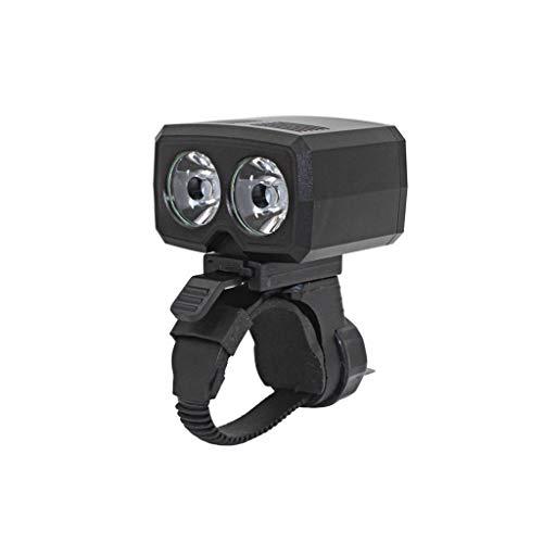 Zpyh Fahrrad-Licht, USB aufladbare Fahrrad Radfahren Scheinwerfer Fahrrad-vorderes Licht Mountainbike Licht 600 Lumen LED-Taschenlampe mit 5 Modi, IP65 wasserdichtes Fahrrad-Licht