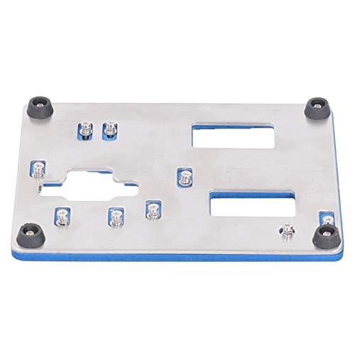 Soporte de accesorio de placa de circuito, abrazadera de accesorio de fijación PCB accesorio de placa base soporte de accesorio de placa lógica, reparación de láminas de metal para teléfono