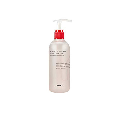 COSRX Calming Solution Body Cleanser 10.48 fl.oz / 310 ml   AC Collection, Acne Body Washes, Salicylic Acid, for Acne-prone Skin