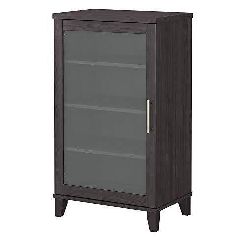 Bush Furniture Somerset Media Accent Cabinet, Storm Gray