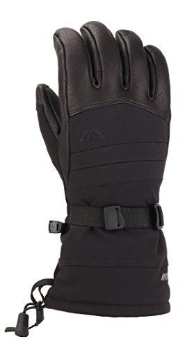 Gordini Men's Polar Ii Waterproof Insulated Gloves, Black, X-Large