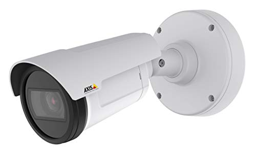 AXIS 0777-001 wetterfeste Netzwerk-Überwachungskamera, weiß