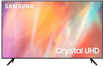 Samsung TV UE43AU7172UXXH Smart TV 43' Serie AU7192, Crystal UHD 4K, Wi-Fi, 2021 model, PurColor, Tizen OS, Dolby Audio 20W (43' / 108 cm)
