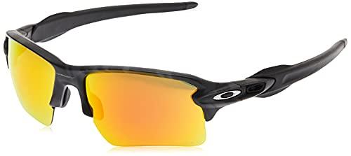 Oakley Flak 2.0 XL 918886 Gafas, Black Camo/Prizmruby, 59 para Hombre