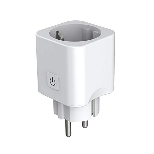 Preisvergleich Produktbild Kuke Smart Steckdose Mini Zigbee Intelligente Plug Outlet kompatibel mit Alexa Echo,  Google Assistant Voice Control, Fernbedienbar und Sprachsteuerung, Timer Funktion, Kein Hub erforderlich