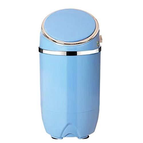 Wasmachine 220V blauw licht wasmachine mini compound pulsator satinless staal kleding aflaten wasmachine halfautomatische 690x340mm wasmachine B