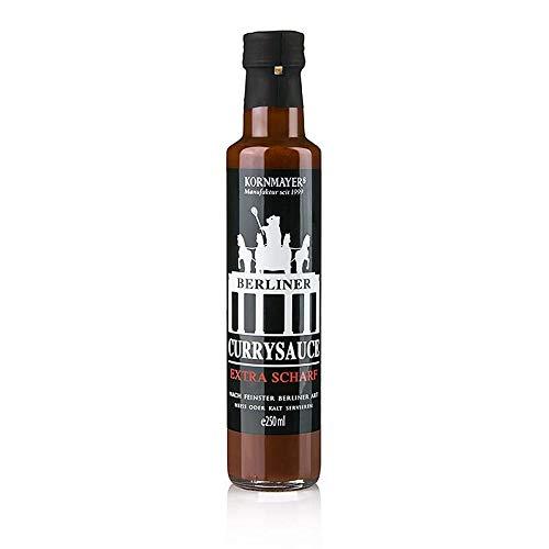 Kornmayer - Berliner Currysauce, Extra Scharf, 250 ml