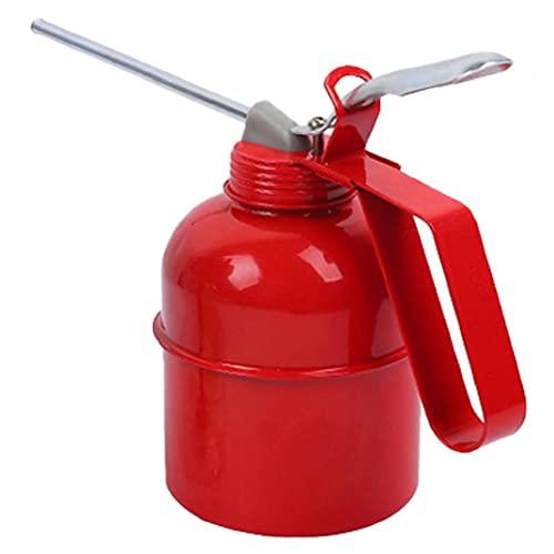 PJKKawesome Bomba De Aceite De Vacío Bomba Extractora De Aceite Bomba De Transferencia De Fluido Tamaño Pequeño Inyector De Aceite con Manguera para Automóviles Motorbike Vehículo Rojo