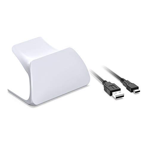 yasu7 Support de manette avec câble de charge USB pour manette de jeu PS5, câble de chargement de type C