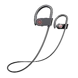 professional Otium Bluetooth headphones, the best IPX7 wireless sports headphones with microphone, waterproof HD stereo …