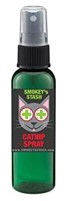 Smokey's Stash Catnip Spray for Cats from 2 Ounce Fresh Premium Maximum Potency nip Treat