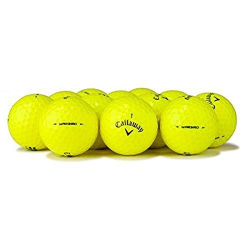 Callaway Yellow Premium Golf Balls (50 Pack), Packaging May Vary