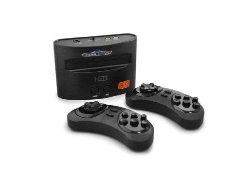 Sega - Console Sega Mega Drive Réédition - 20 jeux inclus - 3760106696374