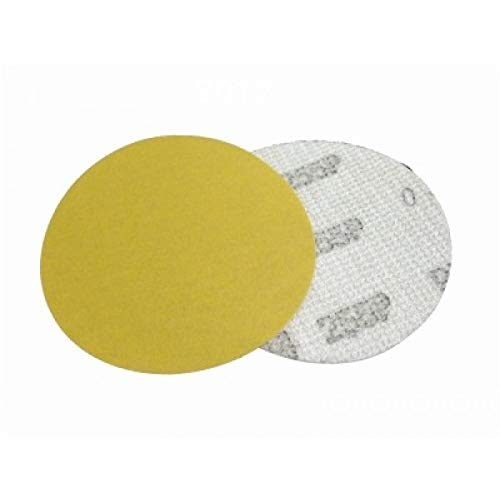 3M Hookit Gold 255P - Discos abrasivos (Velcro, 76 mm, 50 Unidades,...