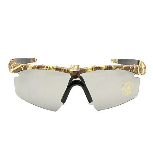 Gafas de sol polarizadas, gafas de protección balística militar para hombre, montura de 2 cm, Combat War Game Eyeshields, hombre, Cam 4 Lens