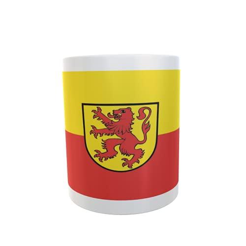 U24 Tasse Kaffeebecher Mug Cup Flagge Bräunlingen