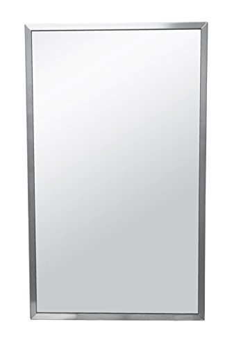 Brey-Krause Commercial Restroom Mirror - 18 inches Wide by 36 inches -