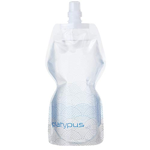 PLATYPUS SOFTBOTTLE WITH PUSH PULL CAP 1L (WAVES)