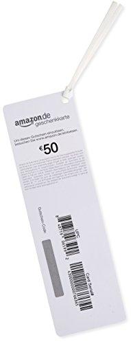 Amazon.de Geschenkkarte als Lesezeichen – 50 EUR (Blumen) - 2
